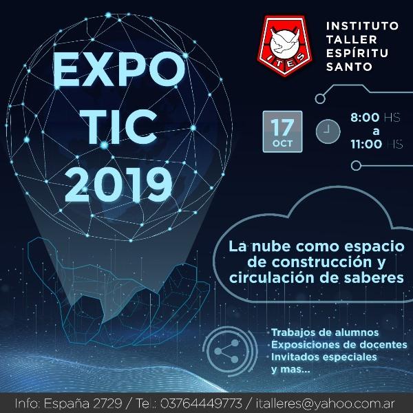 """Expo TIC 2019: """"La nube como espacio de construcción y circulación de saberes"""""""