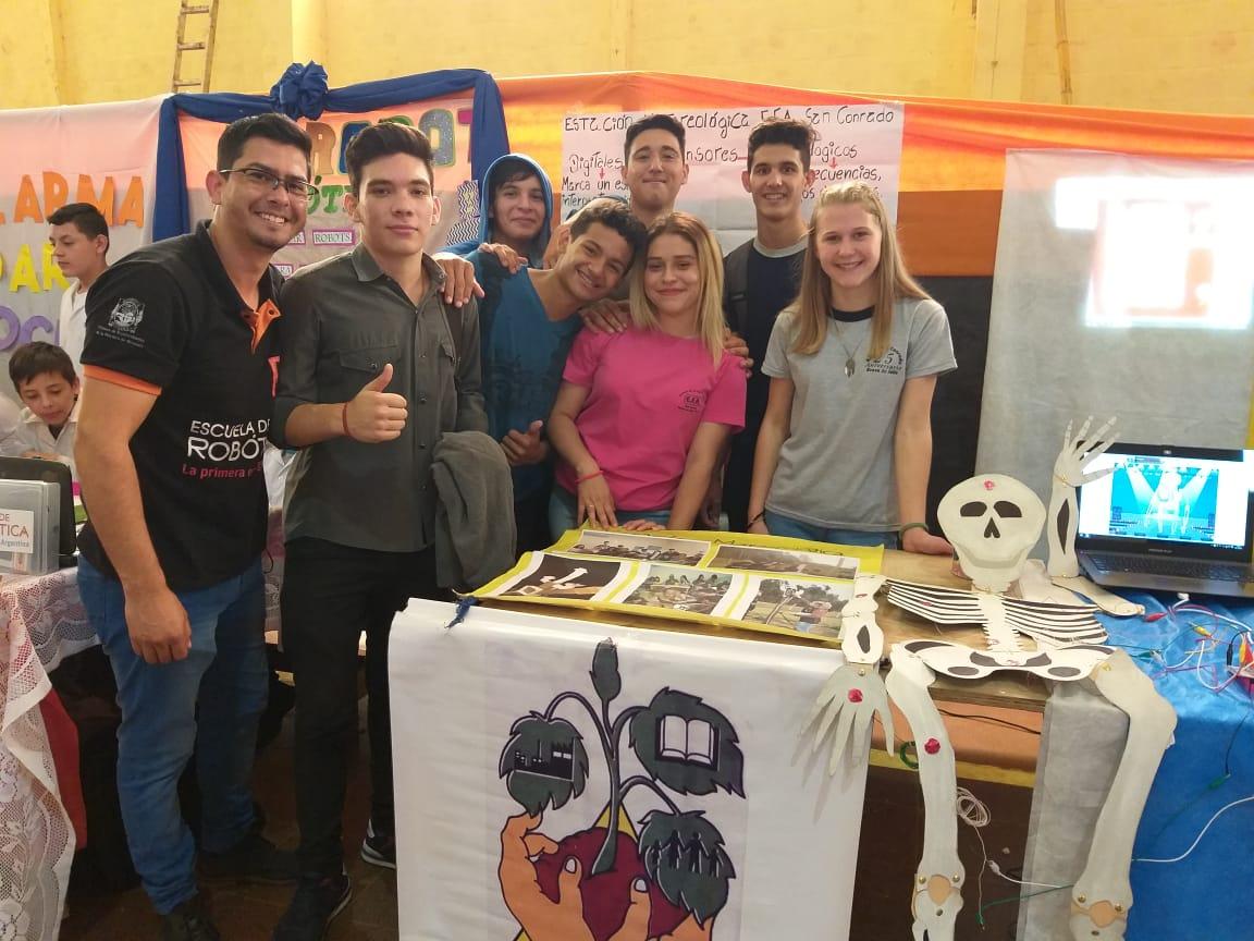La Escuela de Robótica desarrolló importantes actividades en Eldorado