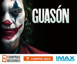 Guasón no se va del IMAX y te espera con la risa más perturbadora…Adquirí aquí las entradas por Internet