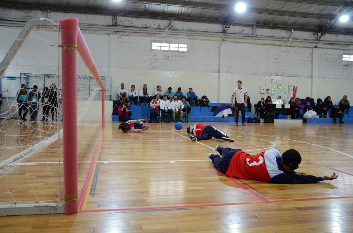 ¡Histórico! El goalball misionero tuvo su estreno en los Juegos Nacionales Evita