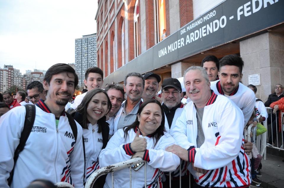 Passalacqua participó junto a la delegación misionera de la ceremonia apertura de los Juegos Nacionales Evita en Mar del Plata