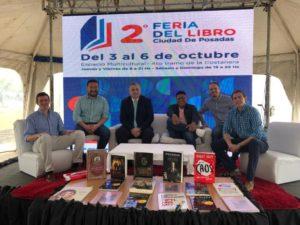 #ConectateAUnLibro, el proyecto para promover la lectura a partir de charlas en los colegios secundarios participó de la Segunda Feria del Libro de la Ciudad de Posadas.