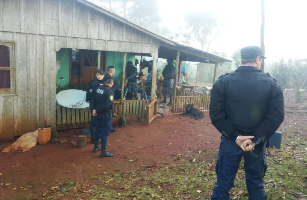 El Soberbio: tres hombres y una joven detenidos en la investigación del homicidio de Rodrigo Alvez