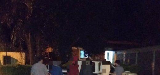 Detuvieron a cuatro personas que protagonizaron una pelea en Campo Viera
