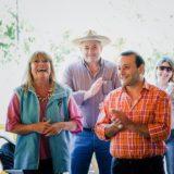 Oscar Herrera Ahuad entregó ganado en 25 de Mayo y ratificó su compromiso de acompañar a colonos y productores