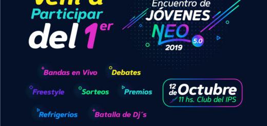 El próximo sábado 12 se realizará el Encuentro de la Juventud Neo 5.0
