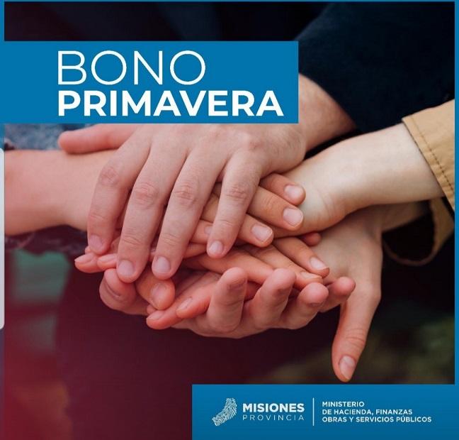 El pago del Bono Primavera fue depositado y se encuentra disponible hoy pero se visualizará por internet recién el martes debido a los feriados consecutivos