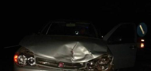 Santa Ana: choque múltiple involucró a tres automóviles