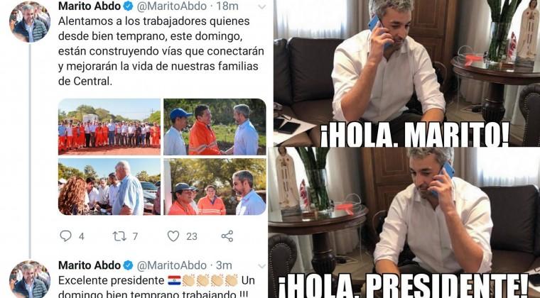 El tuit del presidente de Paraguay que desató una ola de memes en el vecino país