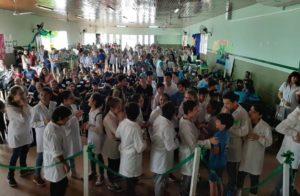 """La creatividad y el compromiso ambiental de más de 200 estudiantes se reflejaron en el cierre integrado del """"Club Verde"""" en Puerto Piray"""