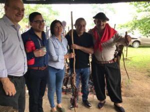 """Herrera Ahuad celebró un aniversario más del programa """"Chamameceros Sangre Nueva"""""""