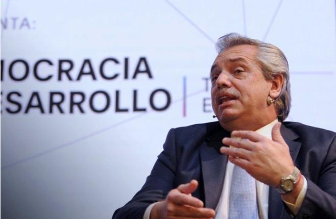 """Bienes Personales: Alberto Fernández aclaró que """"no lo debe pagar el ciudadano de clase media"""""""
