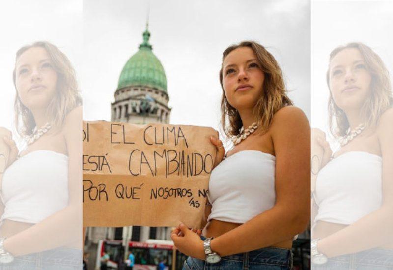 """Nicole Becker, referente de Jóvenes Por el Clima Argentina, sentenció: """"Empiecen a tomar las decisiones que hay que tomar, sino los jóvenes las vamos a tomar"""""""