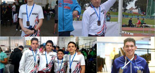 Misiones obtuvo seis medallas en total durante la primera jornada de los Juegos Nacionales Evita