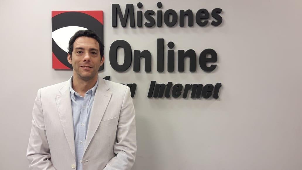 """Marcelo Perez en Misiones Online: """"La decisión política es usar tecnología al servicio de la seguridad"""""""