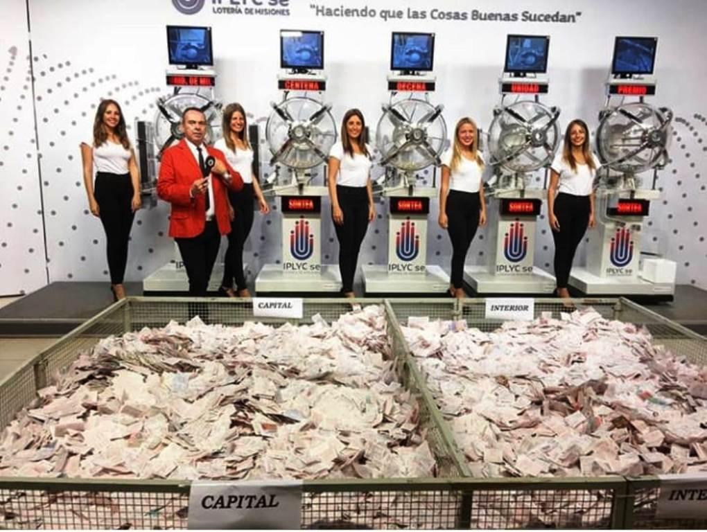 La Tombolita repartió el sábado 190 mil pesos en premios entre apostadores y vendedores