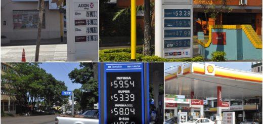 En Posadas los combustibles tienen nuevos precios tras un aumento de 5%