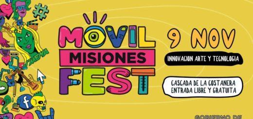 Este 9 de noviembre Posadas se llena de arte, tecnología y cultura con el #MóvilFest2019
