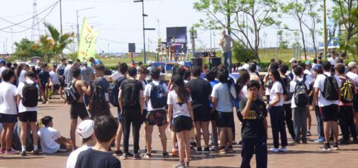 "La EPET 1 ""Industrial"" realizó esta mañana  la 1° Maratón Homenaje al profesor Cacho Mutti"