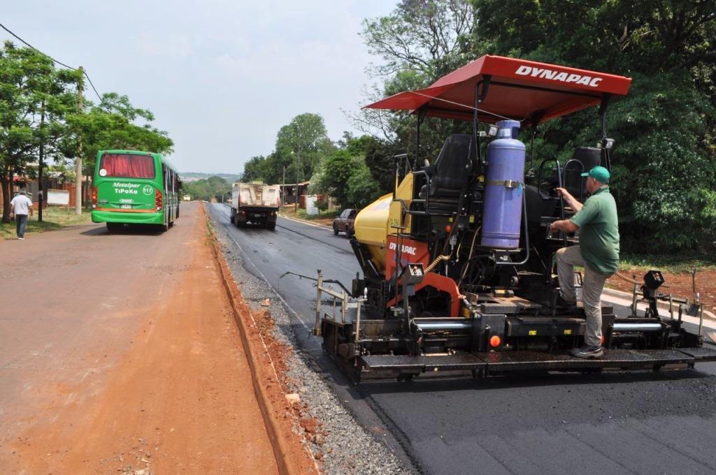 Continúan las obras para mejorar la accesibilidad en Posadas
