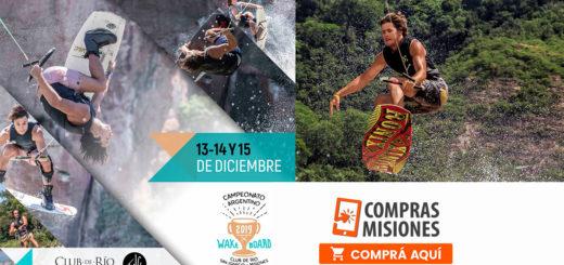 Argentino de Wakeboard en San Ignacio: mirá la grilla artística y adquirí aquí las entradas por Internet