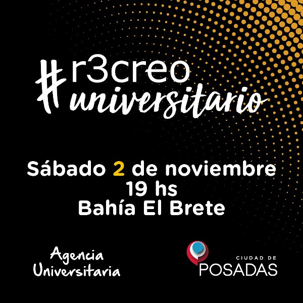 """Ya comenzó el """"Recreo Universitario"""" en el balneario El Brete"""