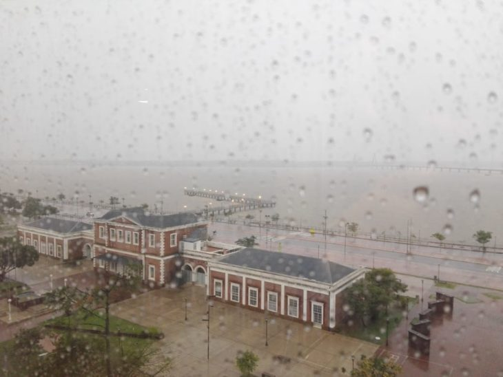 Domingo lluvioso en toda la provincia