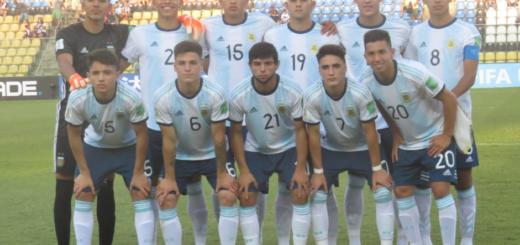 Mundial Sub 17: con el misionero Luciano Vera, Argentina se impuso por 3-1 ante Tayikistán