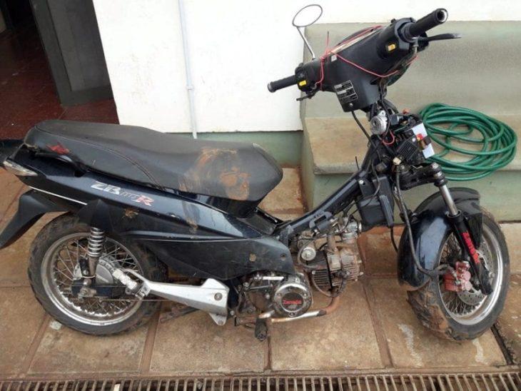 Posadas: Policías recuperaron una motocicleta robada y detuvieron a un joven