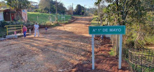 Inauguran obras viales en Garuhapé