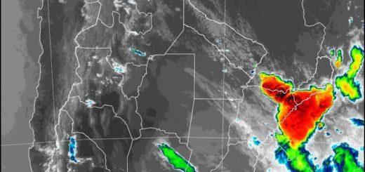 Pronostican la persistencia de lluvias y tormentas en Misiones para este martes