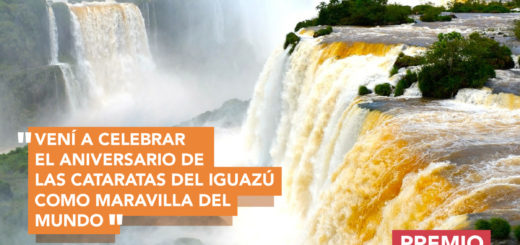 Ganate un fin de semana en Iguazú y celebrá el aniversario de las Cataratas como Maravilla Natural del mundo