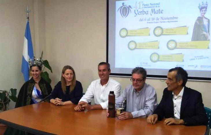 Del 6 al 10 de noviembre Apóstoles vivirá la 41° edición de la Fiesta Nacional de la Yerba Mate