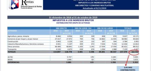 En lo que va del año aumentó en más de 5.300 la cantidad de contribuyentes de Ingresos Brutos en Misiones
