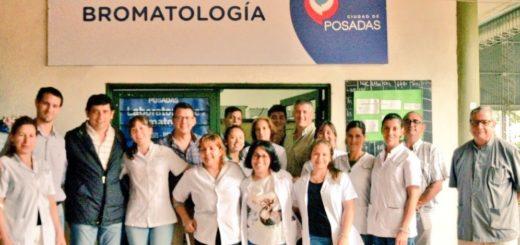 Losada inauguró las nuevas instalaciones del laboratorio de Bromatología de Posadas