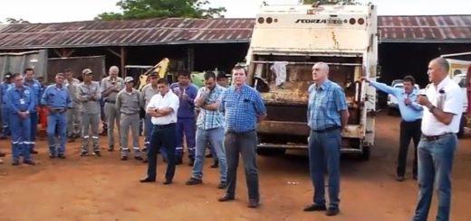 Eldorado: el secretario de gobierno a cargo de Obras Públicas dijo que están trabajando con protocolos de seguridad