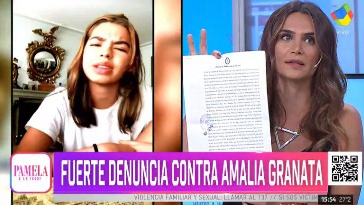 Acusaron a Amalia Granata de pedofilia y ella denunció una maniobra mediática