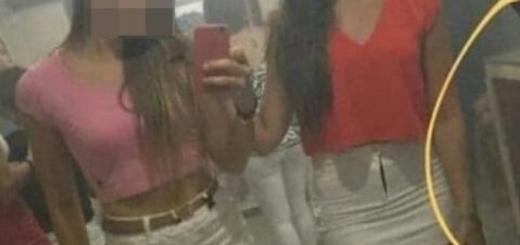 Una extraña imagen viral fue capturada en un boliche de Ituzaingó