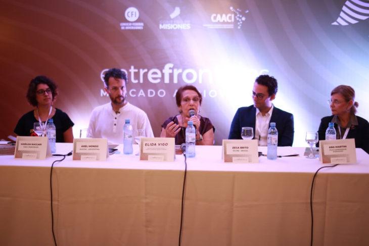 Dan inicio al Mercado Audiovisual EntreFronteras