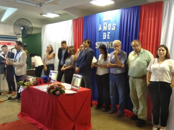 """Empleados municipales de Posadas celebraron """"25 años de Servicio y Jubilados"""""""