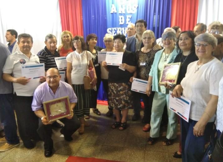 Empleados municipales de Posadas celebraron «25 años de Servicio y Jubilados»