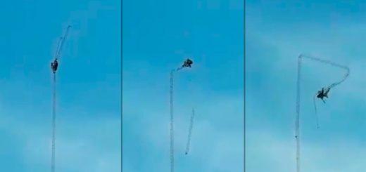 Video: un obrero murió al desplomarse la antena en la que estaba trabajando
