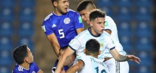Con el misionero Luciano Vera, Argentina cayó ante Paraguay y quedó eliminada del Mundial Sub 17