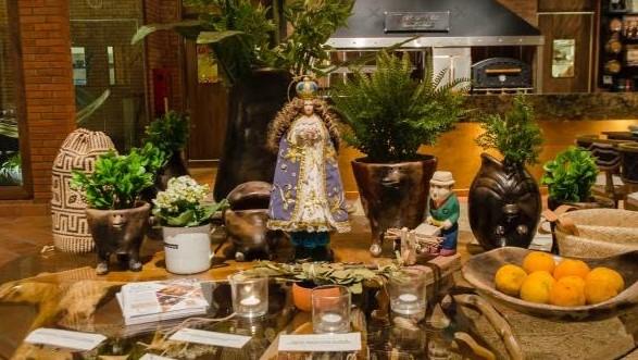 Visitando el restaurante Pozo Colorado en Asunción Paraguay