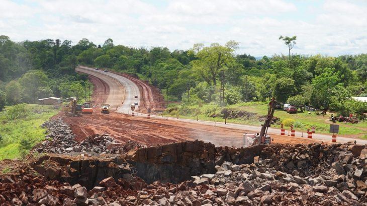 Avanza la transformación en autopista de la Ruta 12 entre Santa Ana y Loreto