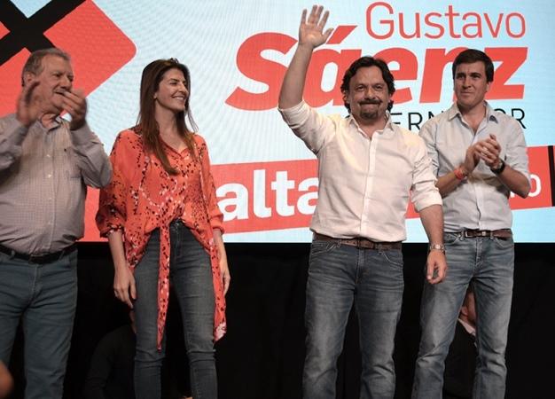 Elecciones en Salta: el intendente Gustavo Sáenz se impuso por amplia diferencia y será gobernador