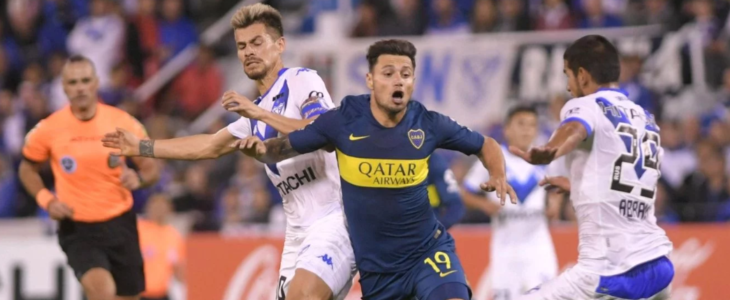 Boca y Vélez juegan en el Amalfitani