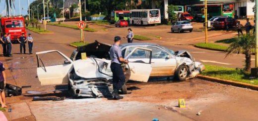 Oberá: siete personas resultaron heridas en un accidente