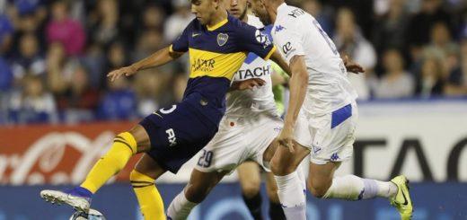 Boca igualó con Vélez y alcanzó la punta de la Superliga