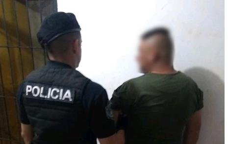 Jardín América: otra vez detuvieron a «Palermo»